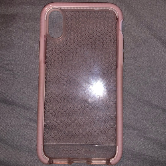 tech21 Accessories - TECH 21 PINK IPHONE X CASE.  BARELY USED